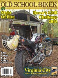 Old School Biker Mag & Roscoe's Chili Challenge