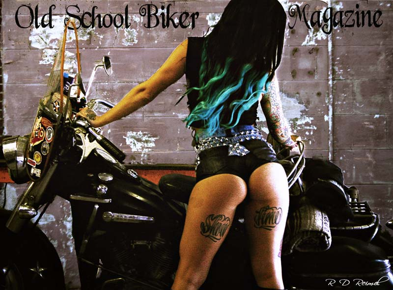 032e49e64 Babe of the Month - Sabrina - Old School Biker