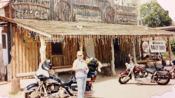 "2001 Sturgis Trip – by Rev Al Paquette ""I don't talk to Christians, especially those who tow their bikes from Florida."""