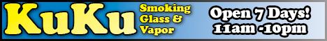 KuKu Smoking Glass and Vapor