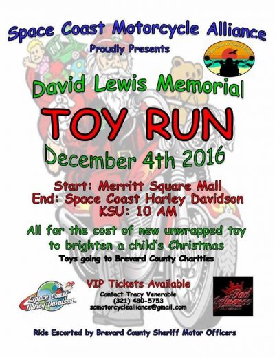 SCMA Bike Fest & Dave Lewis Memorial Toy Run 2016