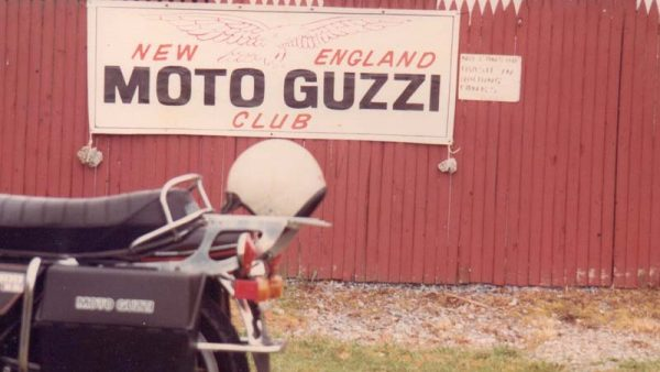 Vintage 70's Moto-Guzzi Club Rally by Miserable George