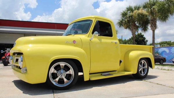 OSB Hot Rod of the Month – Mike's 1955 Ford F-100 by ValGal