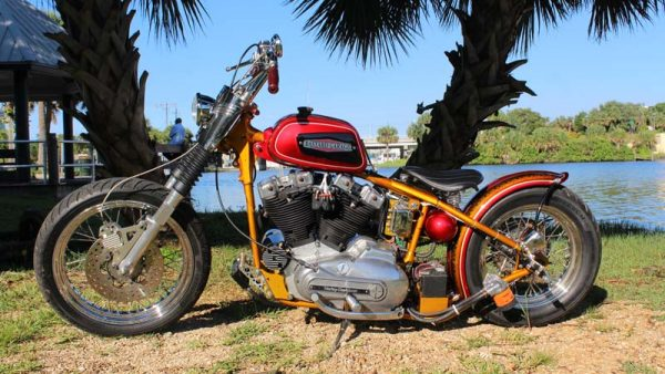 OSB Bike of the Month 76′ Ironhead Sportster July 2016 by ValGal