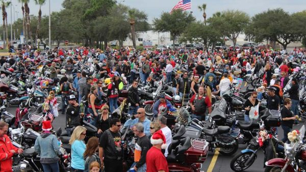 Annual Toy Run by Abate of Brevard 2014 an amazing toy run to benefit children in need.