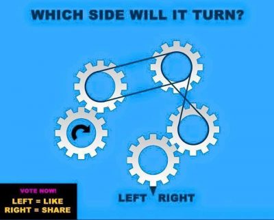 Which Way will it turn