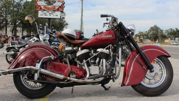 Bike of the Month – 1950 Indian by ValGal