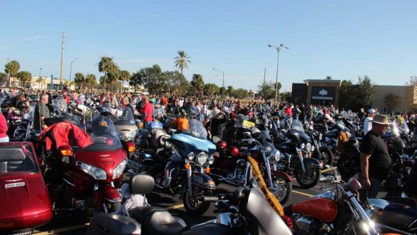 BIKEFEST-2016 by Miserable George the David Lewis Memorial Toy Run drew at least 3000 bikes