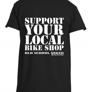 Support Your Local Bike Shop T-shirt