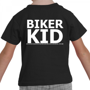 Biker Kid Toddler T-Shirt
