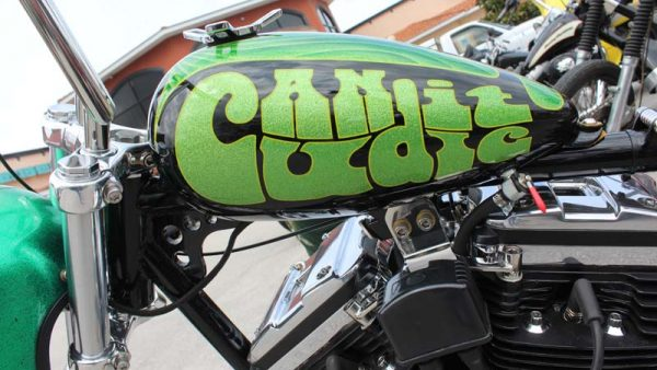 Lime Green Chopper