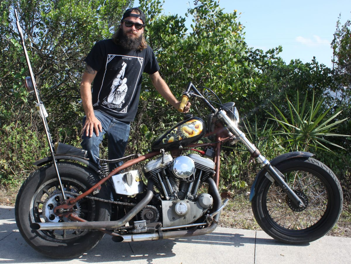 Osb May 2015 Bike Of The Month 98 Sportster Chopper By