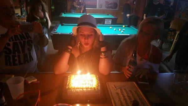 Shana's Birthday at H&D Roadhouse