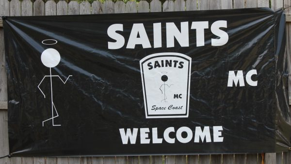 SAINTS  MOTORCYCLE  CLUB by Miserable George