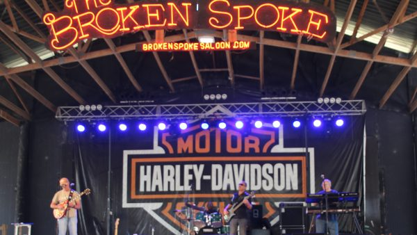 Rods & Choppers at Broken Spoke by Miserable George