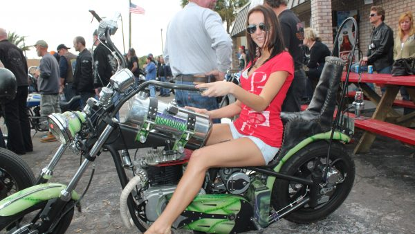 BIKE WEEK BABE at Willie's by Miserable George