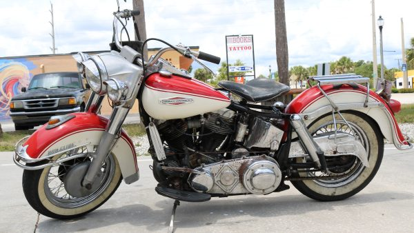Jerry Gayle's 1961 Panhead  by ValGal