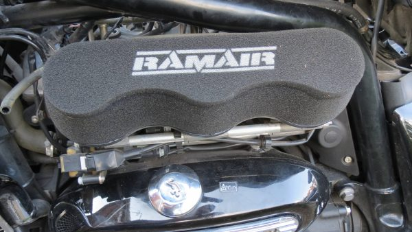 Air Cleaner conversion Ram Air by English Jim