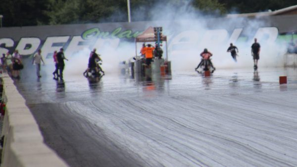 SPEEDWORLD MOTORCYCLE DRAGS by Miserable George