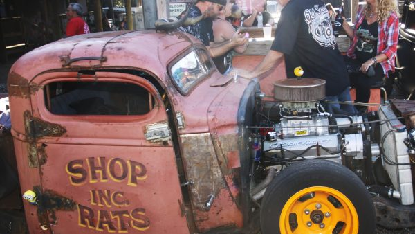 BAD APPLE RAT RODS by Miserable George