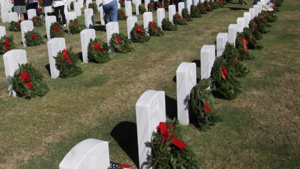 WREATHS ACROSS AMERICA by Miserable George