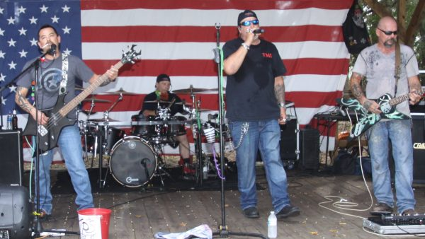 BIKE DAY at AMERICAN LEGION POST #1 by Miserable George