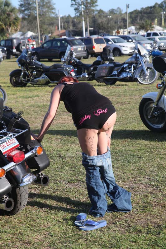 osb april babe of the month laurie   old school biker